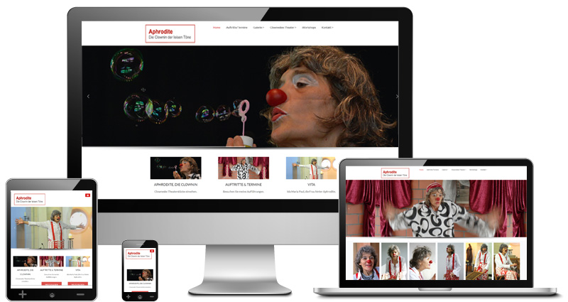Webdesign-responsive-clownin-aphrodite-found-media-much-overath